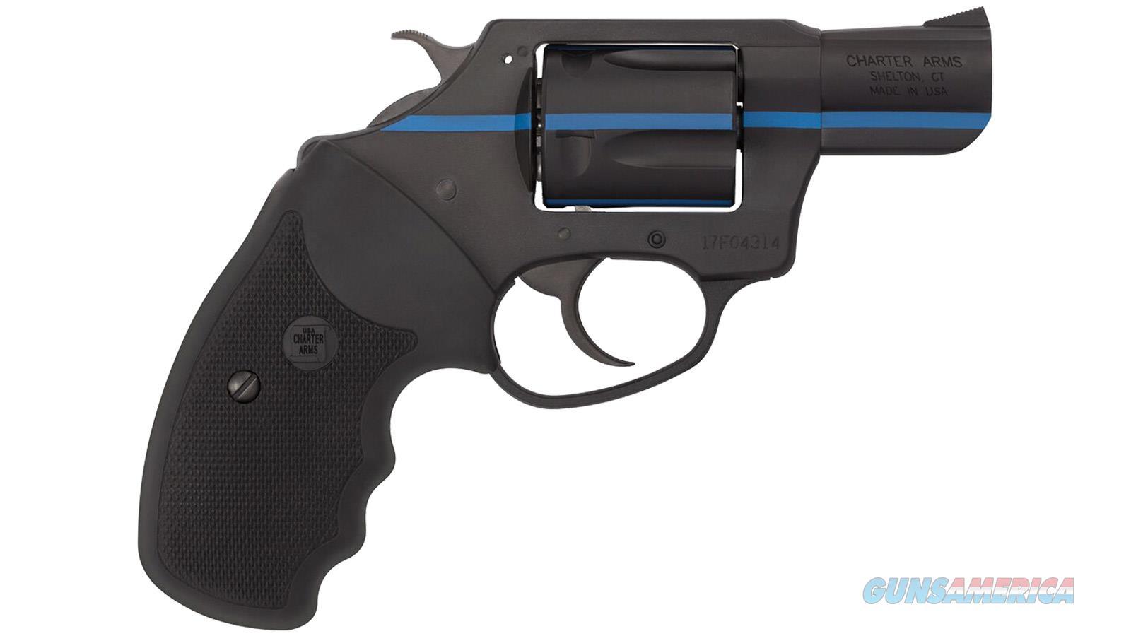 """Charter Arms Arms 911 Blue .38Spl 2"""" Black/Blue Stripe 23825  Guns > Pistols > C Misc Pistols"""