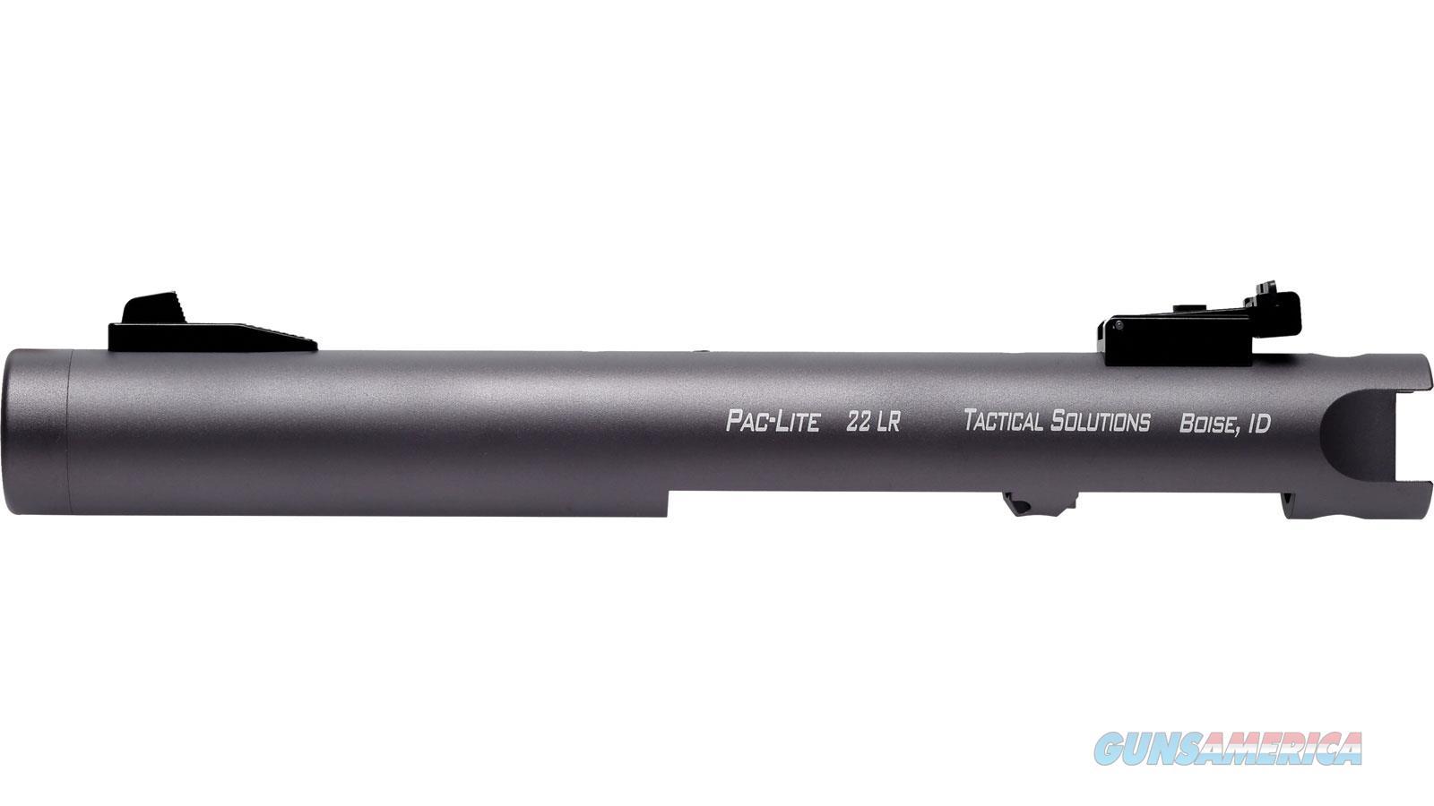 "Tactical Solutions Barrel Pac-Lite 4.5"" Ruger Mk1-3 Gun Metal Gray PL45TEGMGNF  Guns > Pistols > TU Misc Pistols"