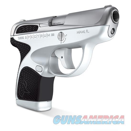Taurus Spectrum 380Acp 2.8 Ss White Blk 6/7Rd 1007039301  Guns > Pistols > TU Misc Pistols