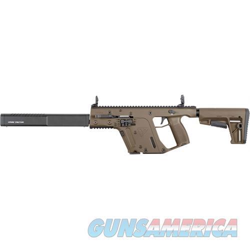 "Kriss Newco Usa Inc Vector Crb G2 9Mm 16"" 17Rd M4 Stock Fde KV90-CFD20  Guns > Rifles > K Misc Rifles"