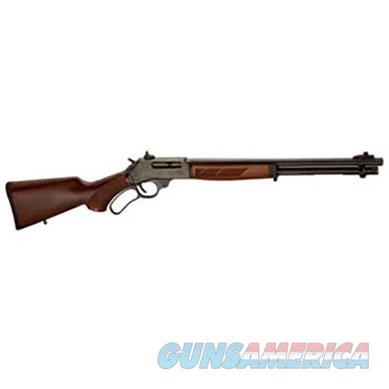 "Henry H010 Lever Steel  45-70 Government 18.43"" 4+1 American Walnut Stk Blued H010  Guns > Rifles > H Misc Rifles"