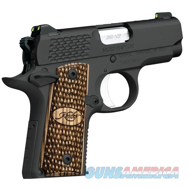 Kimber 380Acp Micro Raptor KIM3300087  Guns > Pistols > K Misc Pistols