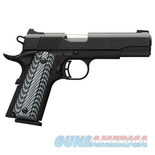 Browning Black Label Pro 1911-380 .380Acp Fs 8-Shot Black G10 051900492  Guns > Pistols > B Misc Pistols