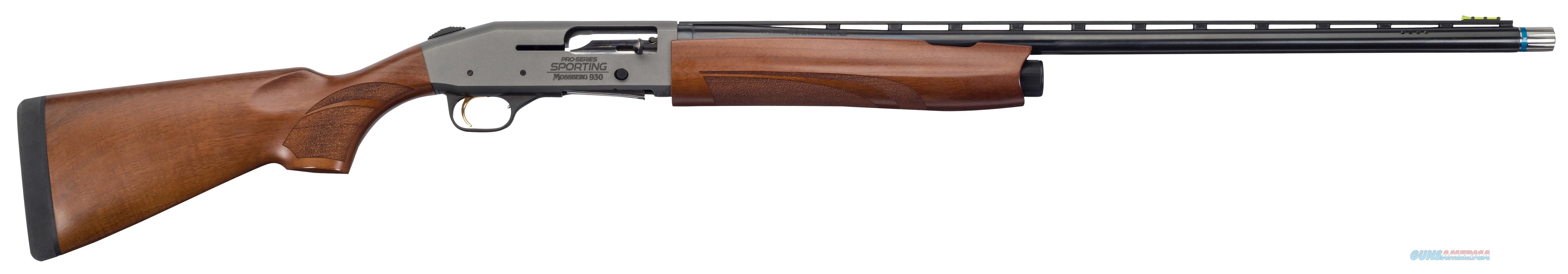 "Mossberg 85139 930 Pro-Series Sporting Semi-Automatic 12 Gauge 28"" 3"" Walnut Stk Blued Cerakote/Blued Barrel 85139  Guns > Shotguns > MN Misc Shotguns"
