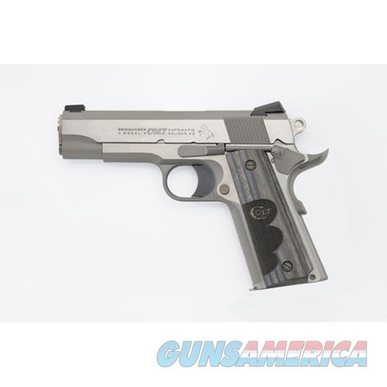 Colt Talo Wiley Clapp Ss Commander 45Acp CLT O4040WC  Guns > Pistols > TU Misc Pistols