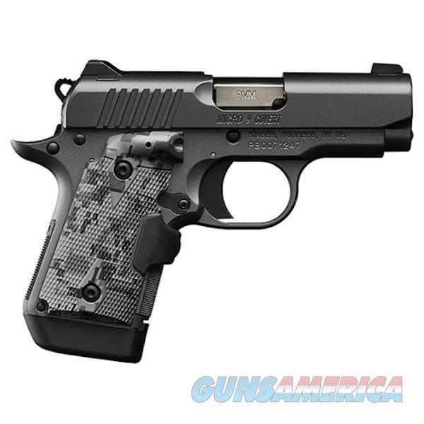 Kimber 9Mm Micro 9 Covert KIM3300187  Guns > Pistols > K Misc Pistols