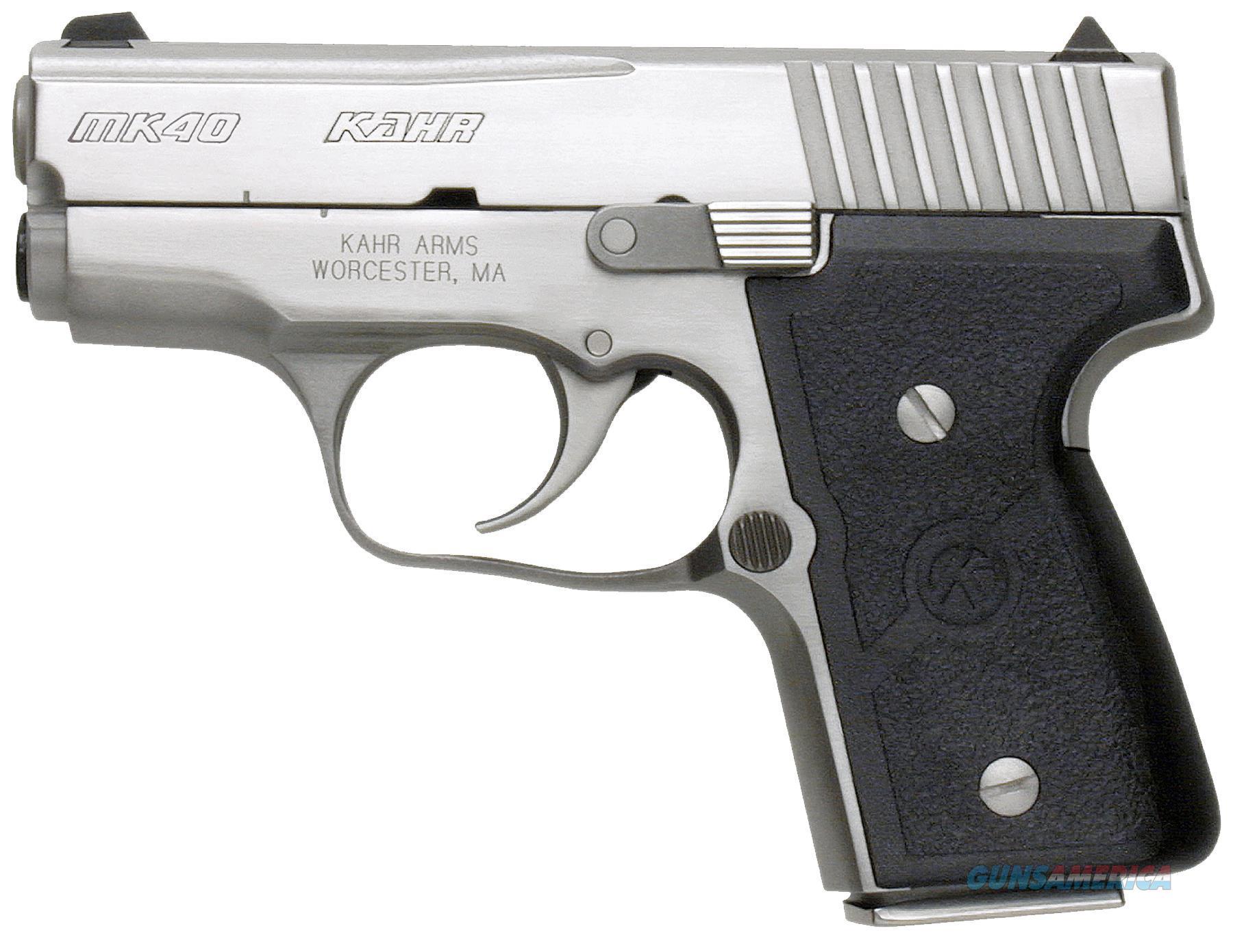 "Kahr Arms M4048 Mk40 Elite Dao 40S&W 3"" 5+1/6+1 Textured Nylon Grip Ss M4048A  Guns > Pistols > K Misc Pistols"
