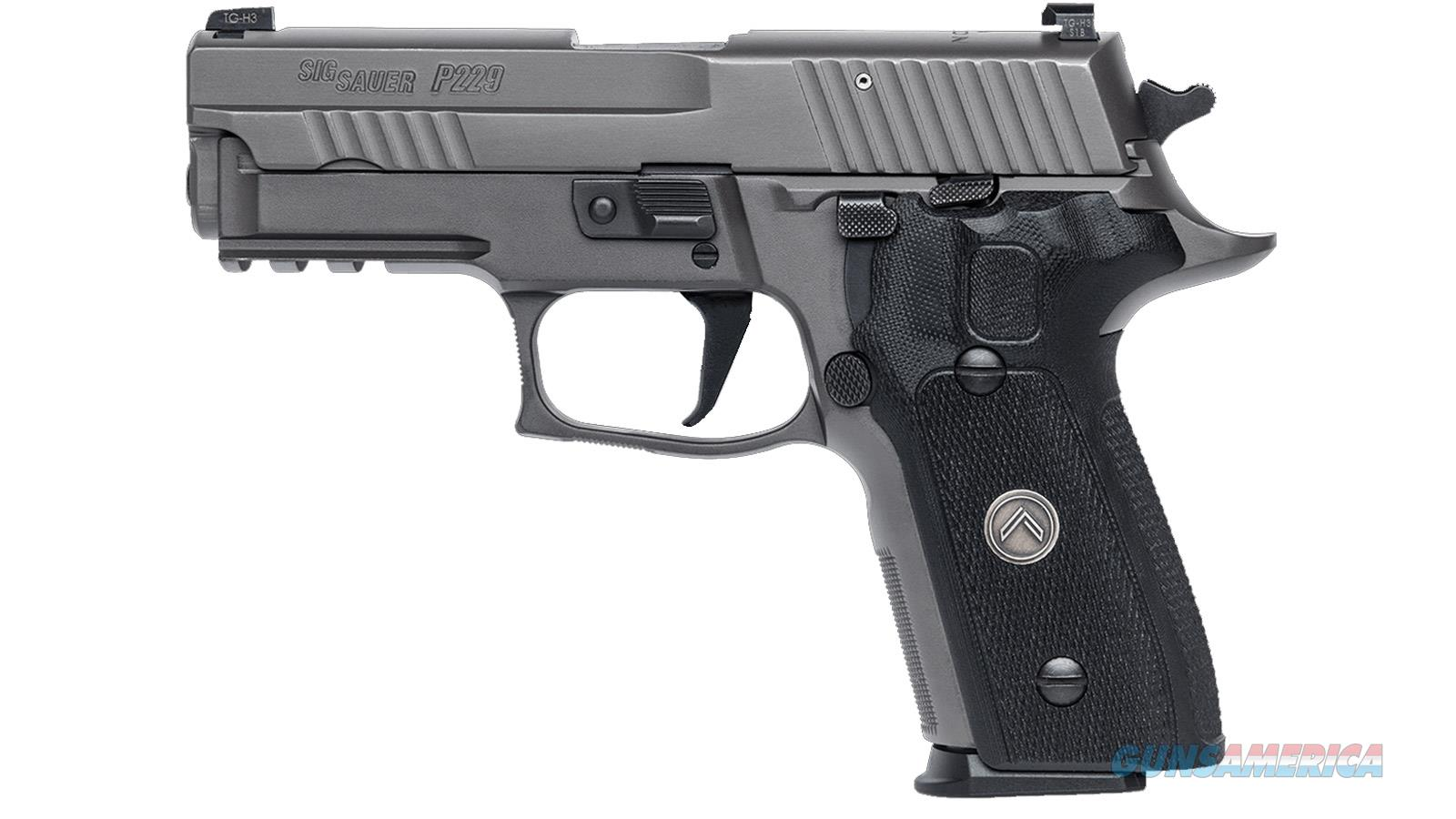 "Sig Sauer P229 Pistol, 9Mm, 3.9"", Legion, Gray , Sao, X-Ray 3, Black G10 Grip, (3) 10Rd Steel Mag, Srt 229R-9-LEGION-SAO  Guns > Pistols > S Misc Pistols"