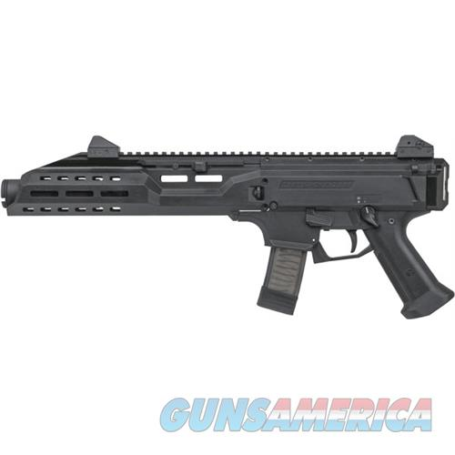 Czusa Scorpion Evo 3 S1 9Mm Fs W/ Flash Can 1/2X28 Thread Blk 91353  Guns > Pistols > C Misc Pistols