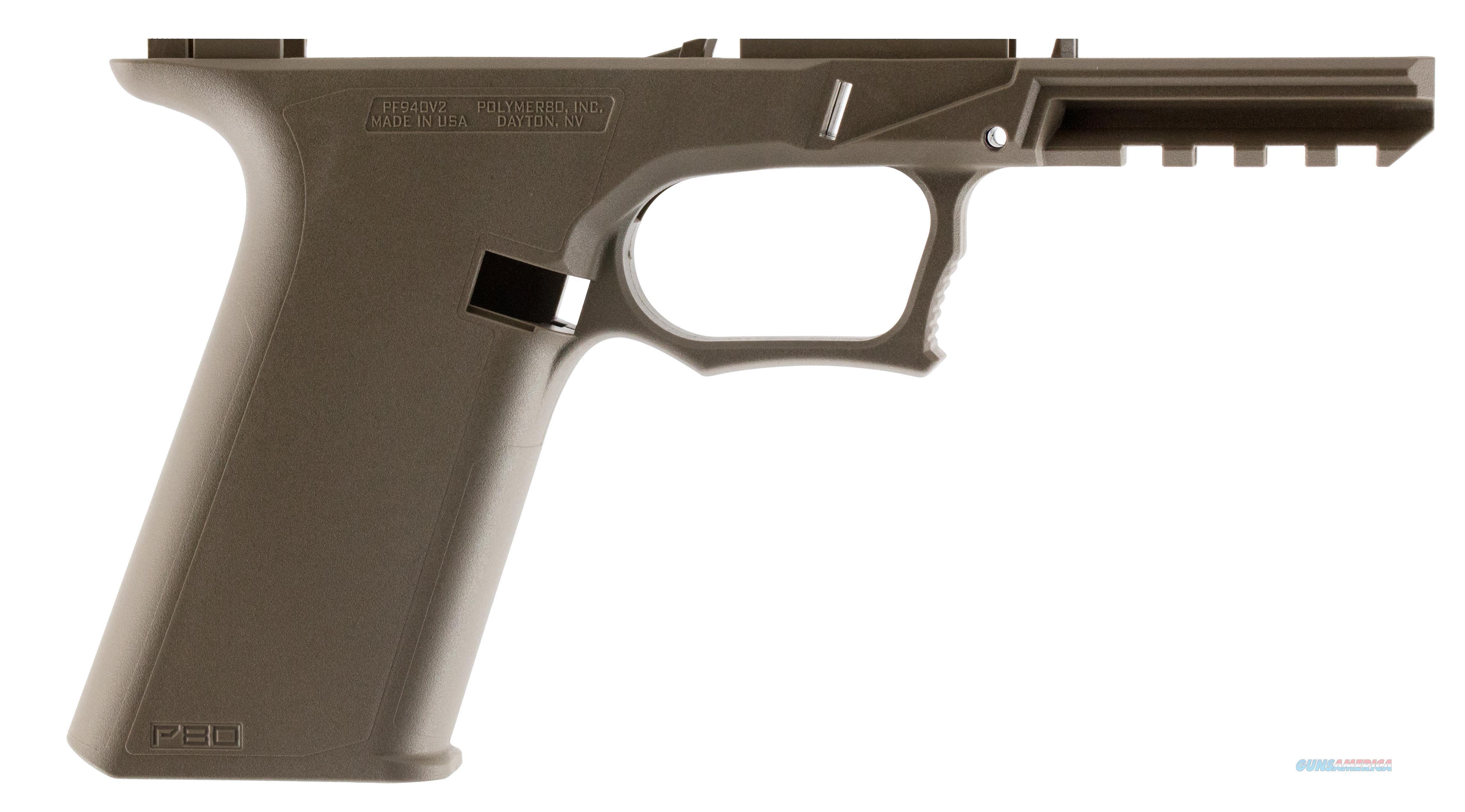 80% Frame 9Mm/40S&W For Glock  17/22/33/34/35 Fde Redymod P80PF940V2RM  Guns > Rifles > PQ Misc Rifles