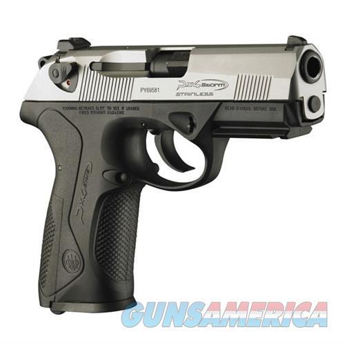 Beretta Px4 Storm Full Inox 40 S&W 10-Rd JXF4F50  Guns > Pistols > B Misc Pistols