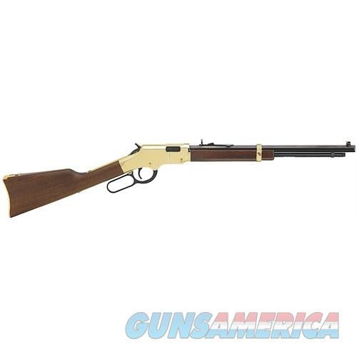 "Henry H004y Golden Boy Youth  Lever 22 Short/Long/Long Rifle 17"" 12 Lr/16 Short American Walnut Stk Brass Receiver/Blued Barrel H004Y  Guns > Rifles > H Misc Rifles"