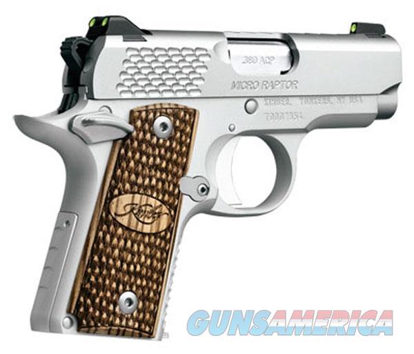 Kimber 380Acp Micro Raptor Ss KIM3300084  Guns > Pistols > K Misc Pistols