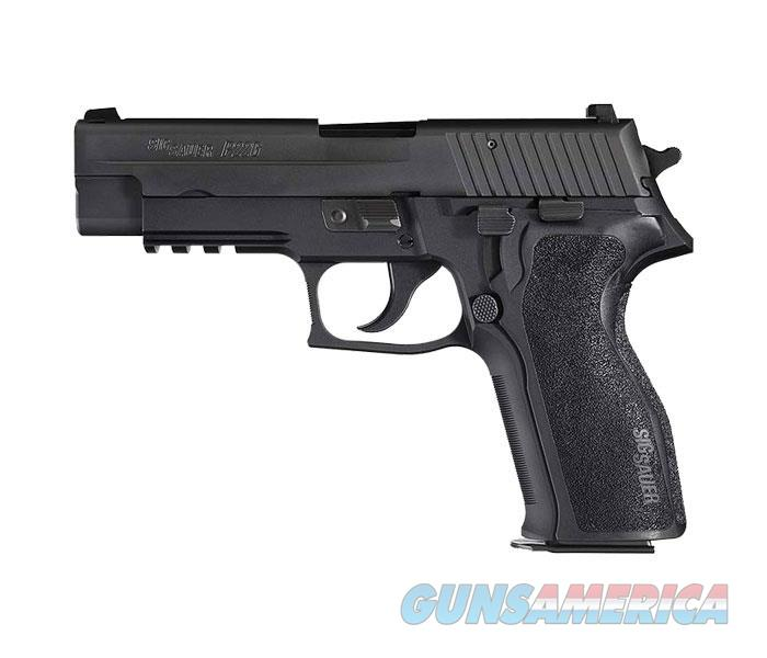 Sig Sauer P226 Nitron Semi Auto Pistol, 9Mm, 4.4In,  Blk, Da/Sa, Siglite, E2 Grip, (2) 10Rd Steel Mag, Ma Compliant 226RM-9-BSS  Guns > Pistols > S Misc Pistols