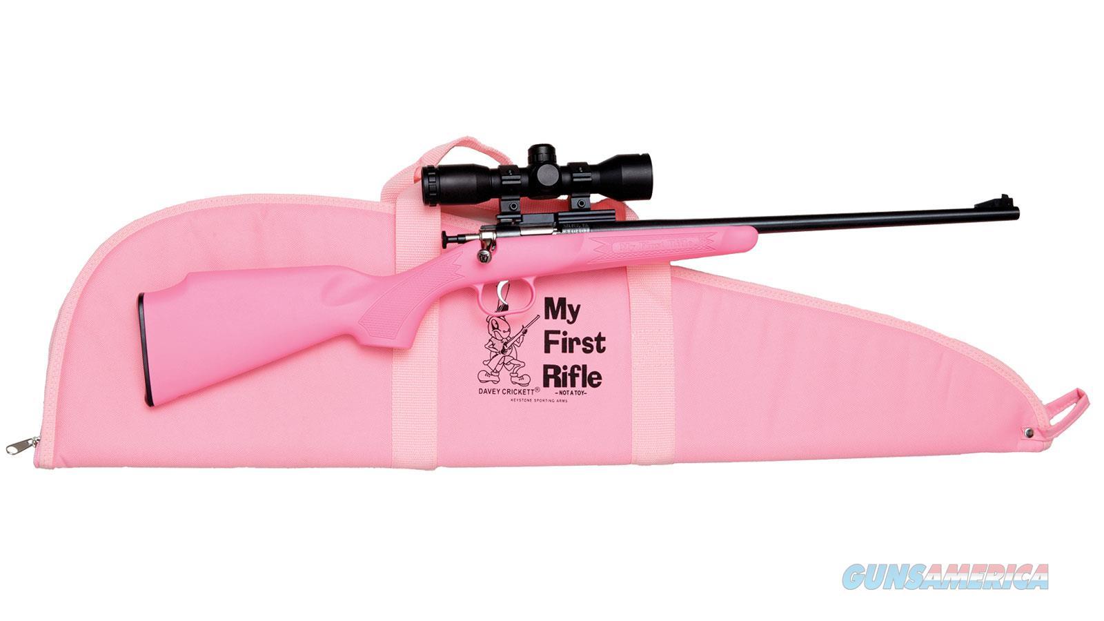 """Keystone Sporting Arms Pink Pkg 22S/L/Lr 16.125"""" KSA2220BSC  Guns > Rifles > K Misc Rifles"""