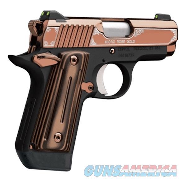 Kimber Micro 380Acp Rose Gold KIM3300173  Guns > Pistols > K Misc Pistols