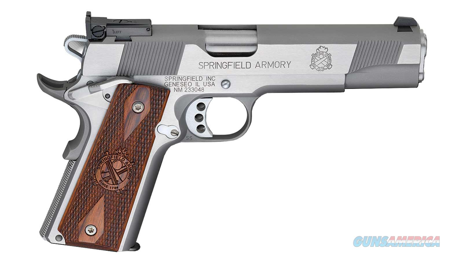 Springfield Armory 1911-A1 9Mm 5 Ss As Target Ca Legal PI9134LCA  Guns > Pistols > S Misc Pistols