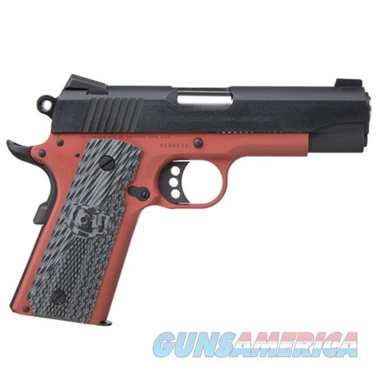 Talo Ltwt Commander 45Acp 80 Series Anodized Red CLT O1991Z  Guns > Pistols > TU Misc Pistols
