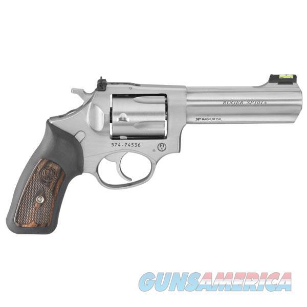 Ruger Da Revolver Sp101~ Standard 357 Mag 4.2''Bbl Satin St 5771  Guns > Pistols > R Misc Pistols