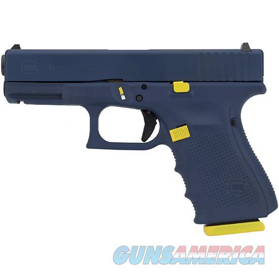 Glock 19 Gen4 9Mm 4.02 Navy Tribute 15Rd PG1950203FBIY  Guns > Pistols > G Misc Pistols
