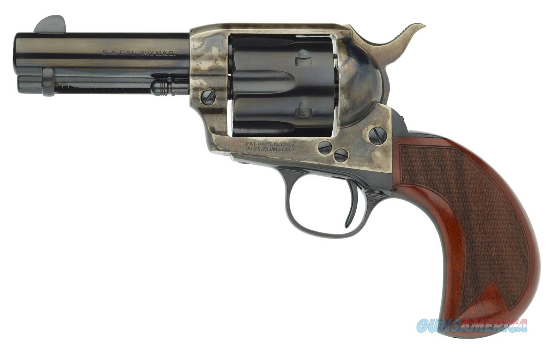 Taylor's & Co Uberti 1873 Cattleman 357Mag 3.5 Checkered 555132  Guns > Pistols > TU Misc Pistols