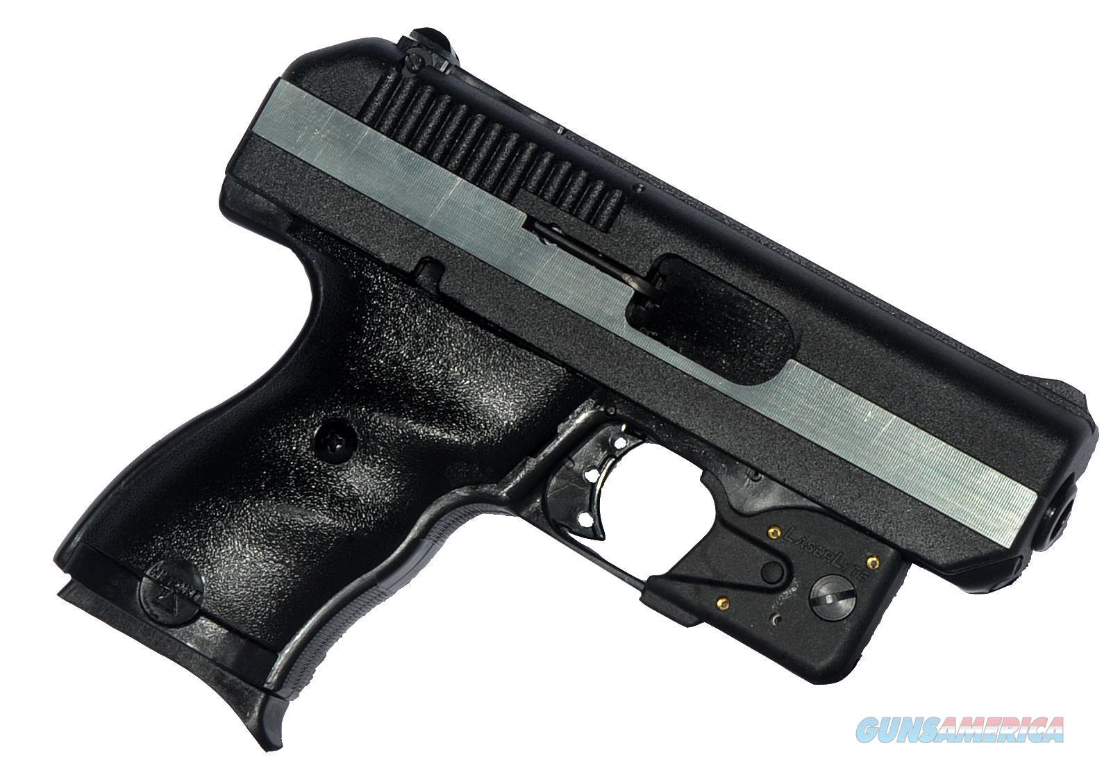 "Hi-Point Cf380lltgm W/Laserlyte Double 380 Automatic Colt Pistol (Acp) 3.5"" 8+1 3-Dot Black Polymer Grip Black/Chrome CF380LLTGM  Guns > Pistols > H Misc Pistols"