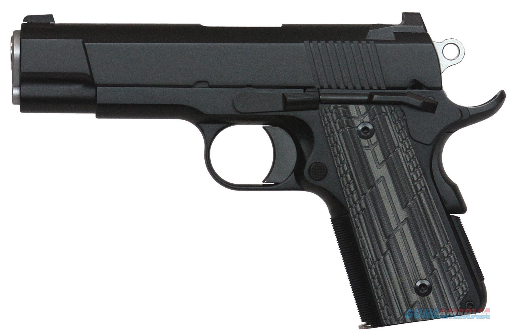 "Dan Wesson 01966 1911 Valkyrie Single 45 Automatic Colt Pistol (Acp) 4.25"" 7+1 Tns Black/Gray Slimline G10 Grip Black 01966  Guns > Pistols > C Misc Pistols"