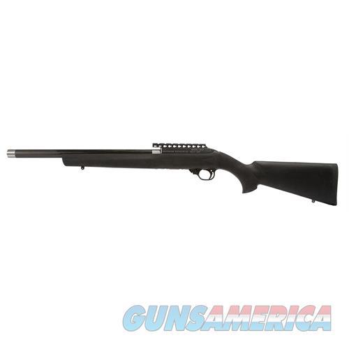 "Magnum Research Mlr22h Magnum Lite Houge Semi-Automatic 22 Long Rifle 17"" 10+1 Hogue Overmolded Black Stk Black MLR22H  Guns > Rifles > MN Misc Rifles"