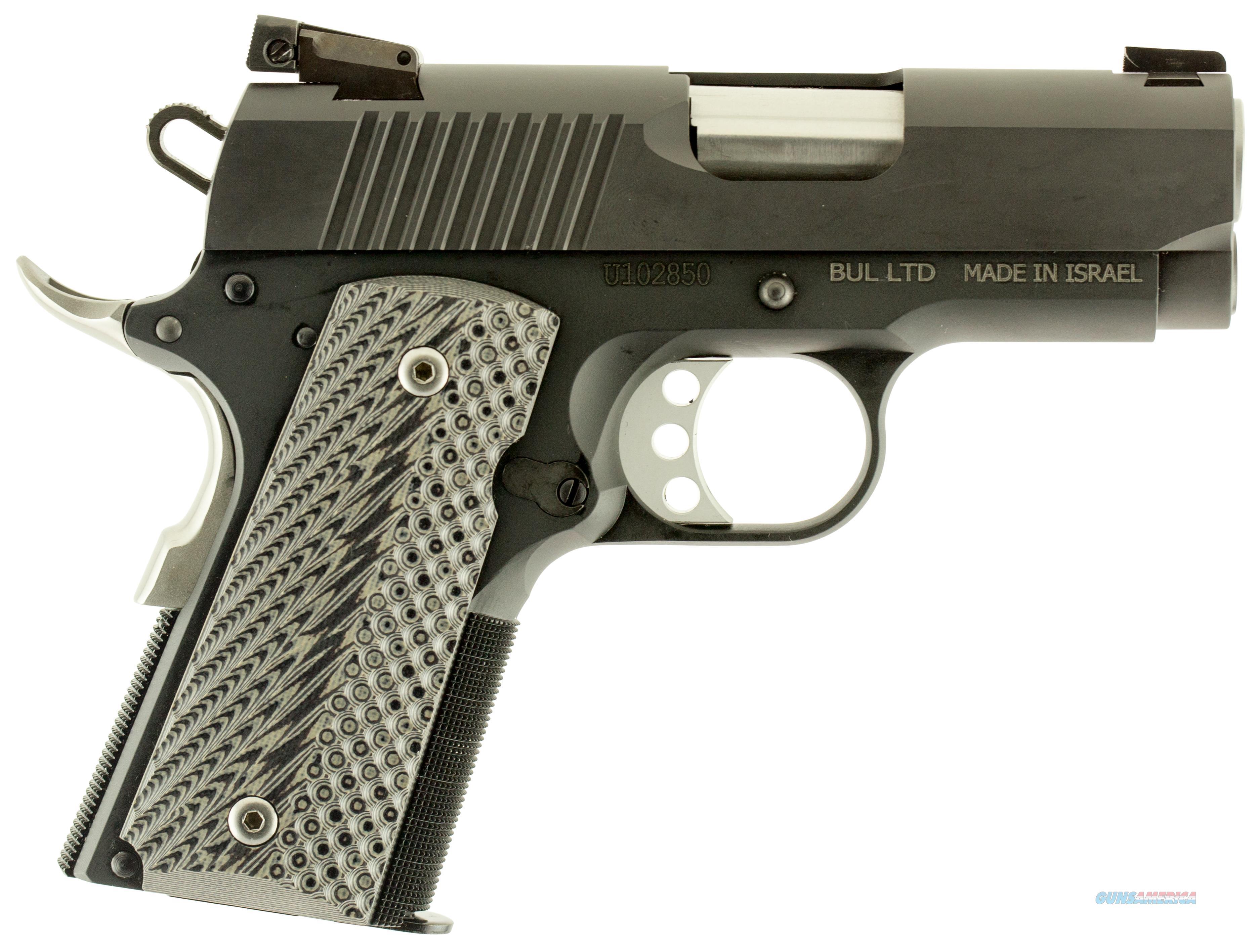 "Magnum De1911u9 Desert Eagle 1911 Undercover Single 9Mm 3"" 8+1 Black/Gray G10 Grip Black DE1911U9  Guns > Pistols > Magnum Research Pistols"