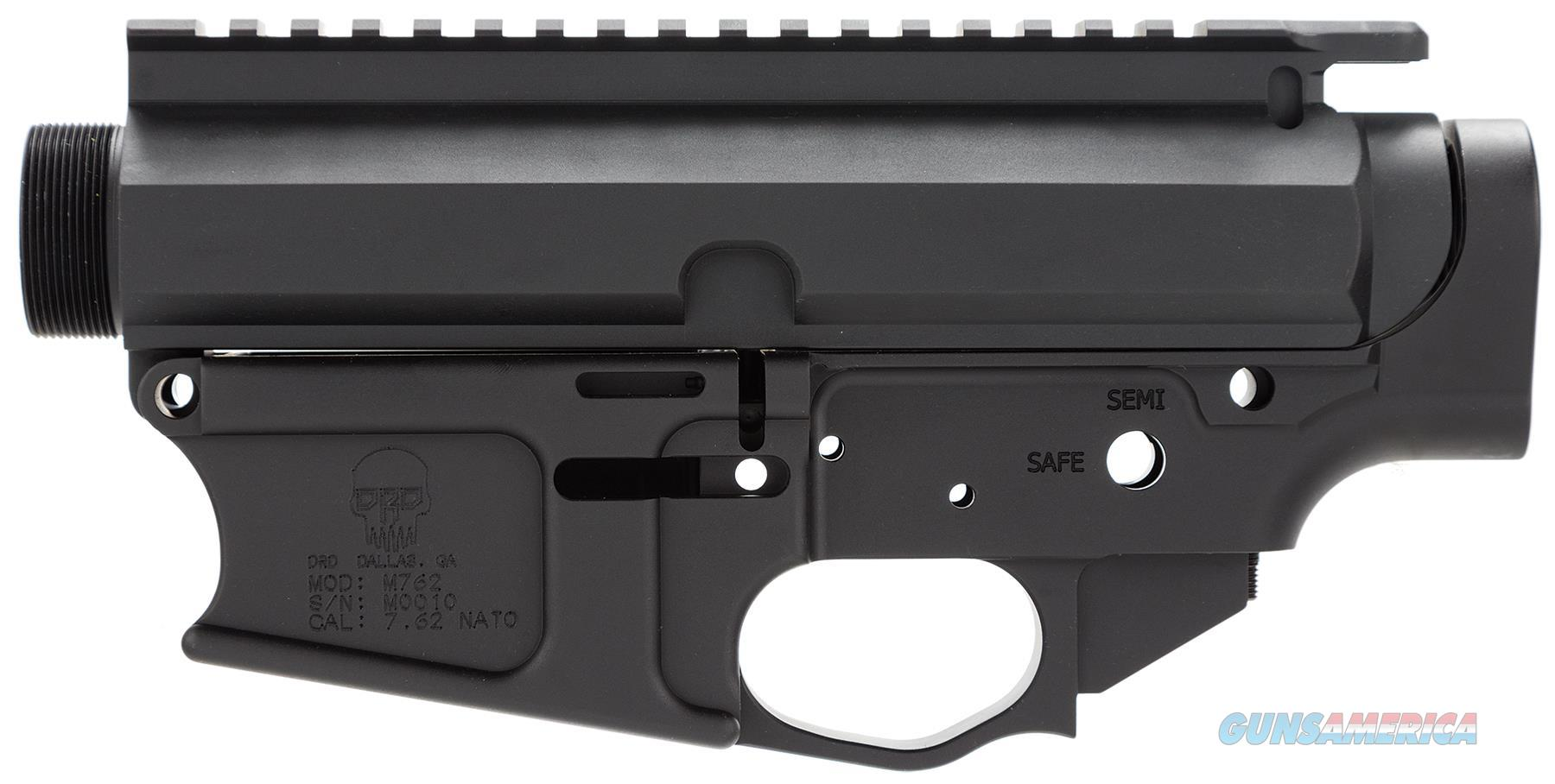 Drd Tactical M762rec M762 Billet Lower/Upper Ar-10 308 Winchester/7.62 Nato Black M762REC  Guns > Rifles > D Misc Rifles