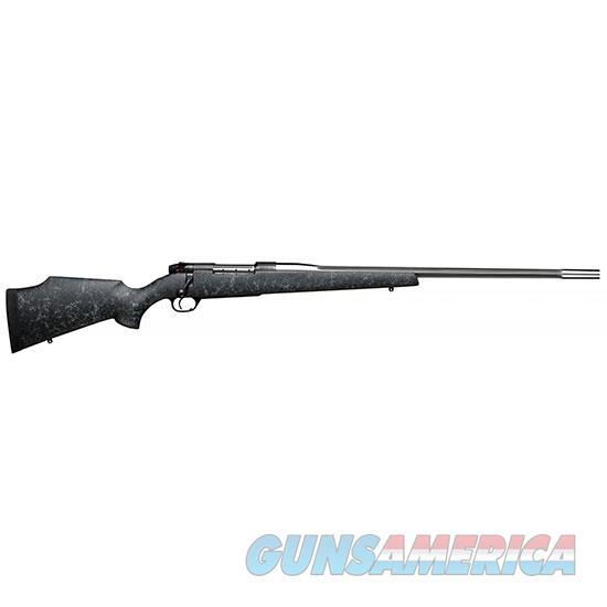 Weatherby Mkv Accumark 338Lap 28 Blk Gray Web Muzzle MAMM338LR8B  Guns > Rifles > W Misc Rifles
