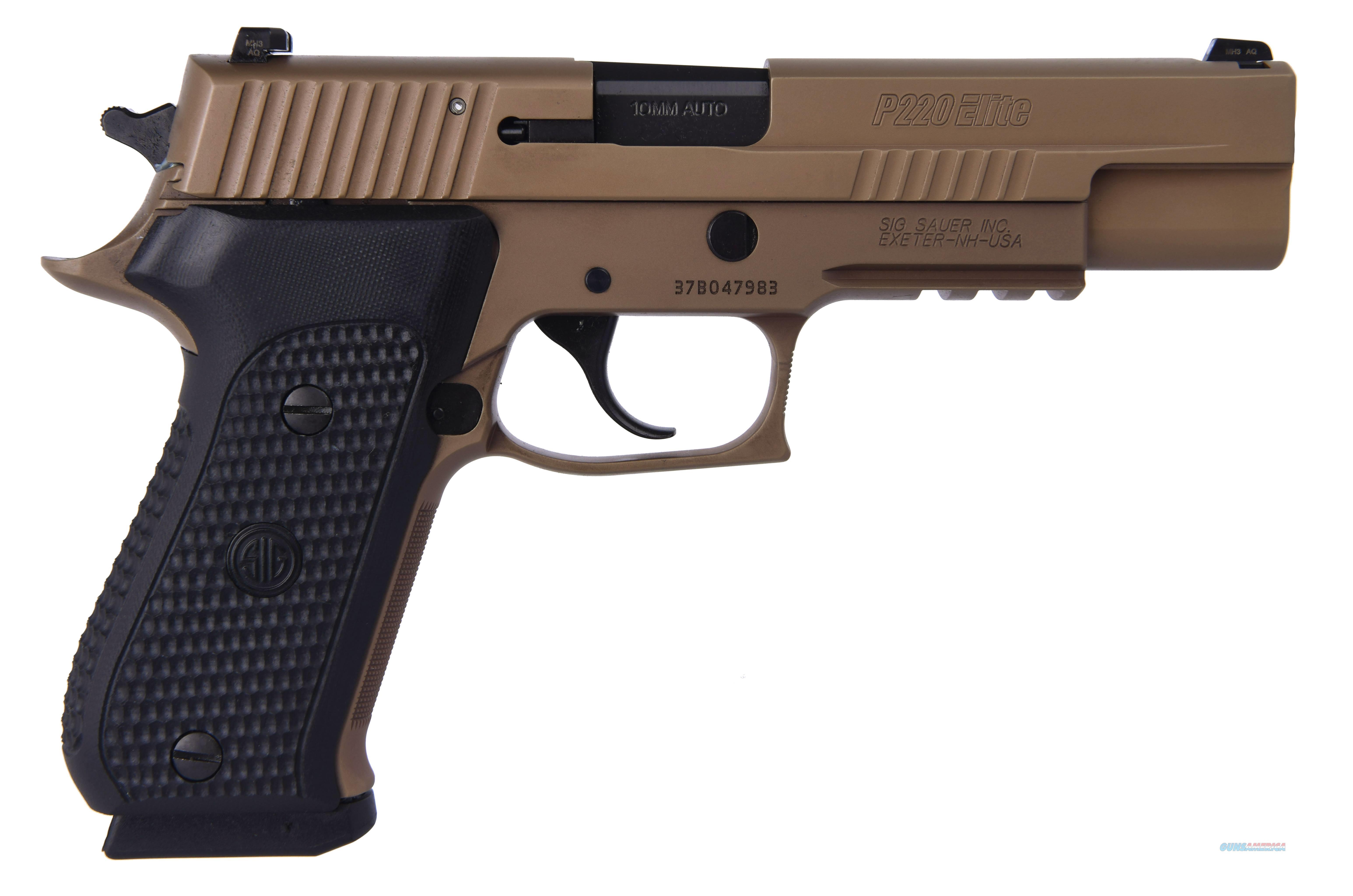 "P220 Emp Scorpion 10Mm 5"" Ns 220R5-10-ESCPN  Guns > Pistols > S Misc Pistols"