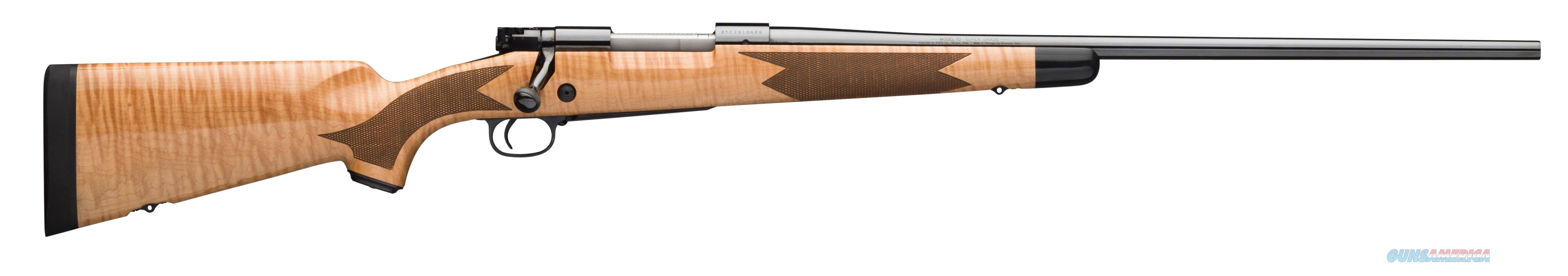 "Winchester 70 Super Grade Maple .30-06 24"" Select Maple 535218228  Guns > Rifles > W Misc Rifles"