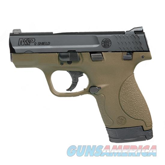 Smith & Wesson M&P Shield 9Mm 3.1 Fde 7&8Rd 10303  Guns > Pistols > S Misc Pistols