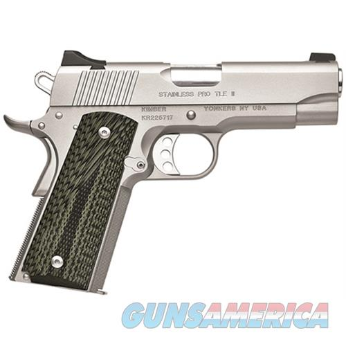Kimber 45Acp Stainless Pro Tle KIM3200345  Guns > Pistols > K Misc Pistols