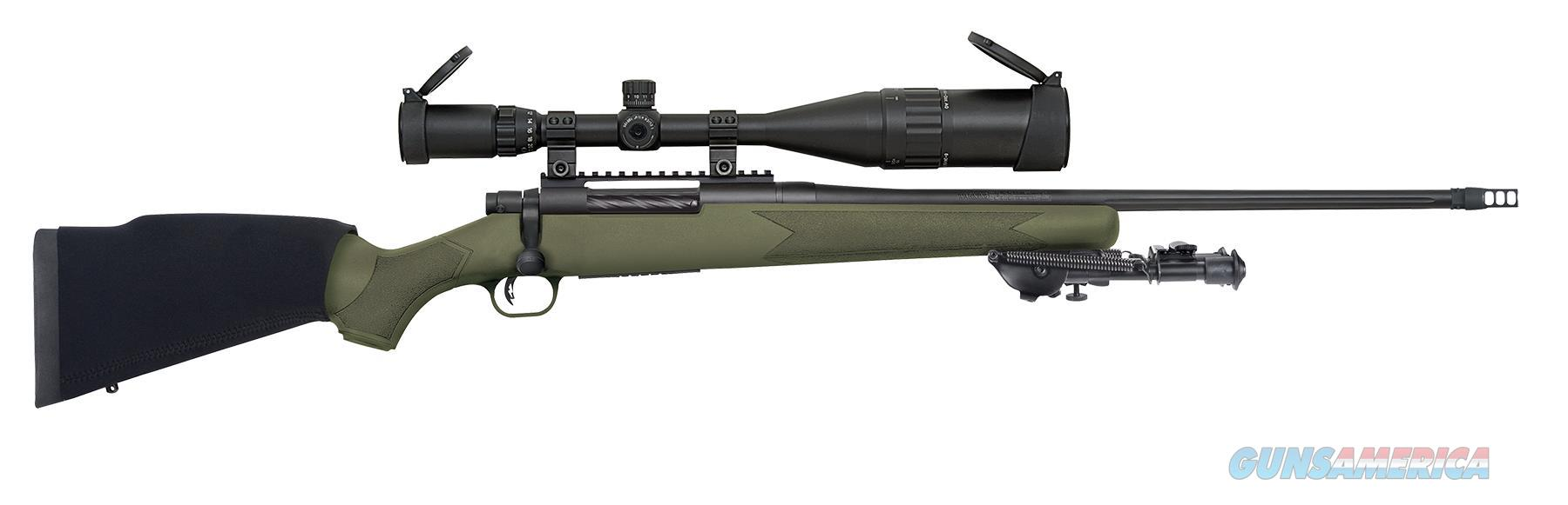 "Mossberg 27925 Patriot Night Train Bolt 300 Win Mag 22"" 4+1 Synthetic Od Green Stk Blued 27925  Guns > Rifles > MN Misc Rifles"