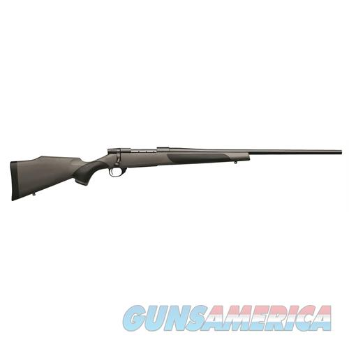 """Weatherby Vgt65cmr4o Vanguard Synthetic Bolt 6.5 Creedmoor 24"""" 4+1 Synthetic W/Rubber Panels Gray Stk Blued VGT65CMR4O  Guns > Rifles > W Misc Rifles"""
