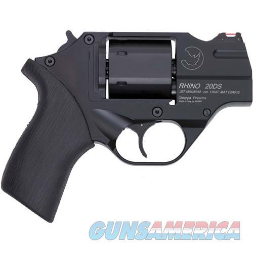 "Chiappa Firearmsmks Rhino 200Ds .357Mag 2"" Fs Black/Rubber W/Holster CF340.216  Guns > Pistols > C Misc Pistols"