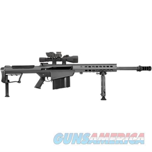 Barrett M107a1 50Bmg 20 Fltd Blk Leu Mark4 Bors 14017  Guns > Rifles > Barrett Rifles