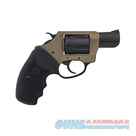 Charter Arms Undercover Lite 38Spl 2 Earthborn & Blk 53863  Guns > Pistols > C Misc Pistols