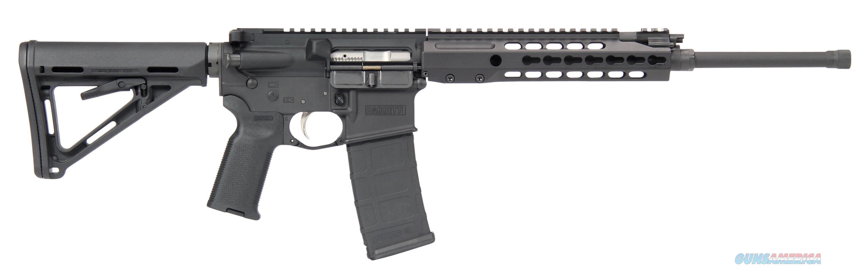 Barrett Rec7 Gen 2 6.8Mm 16 Flyweight Barrel Blk Rc 13958  Guns > Rifles > Barrett Rifles