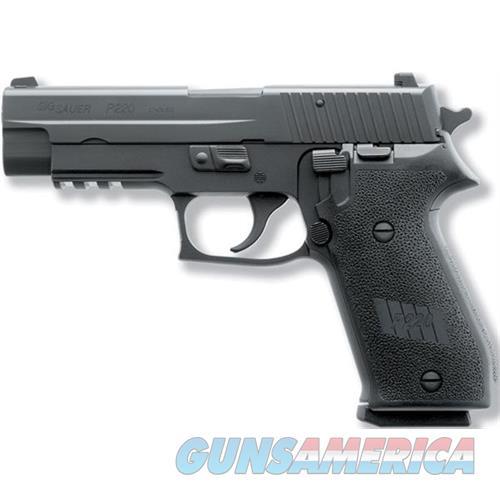 "Sig Sauer 220R45bss P220 Full Size 45 Acp Single/Double 4.4"" 8+1 Black 1-Piece Ergo Grip Black Nitron Stainless Steel Slide 220R-45-BSS  Guns > Pistols > S Misc Pistols"