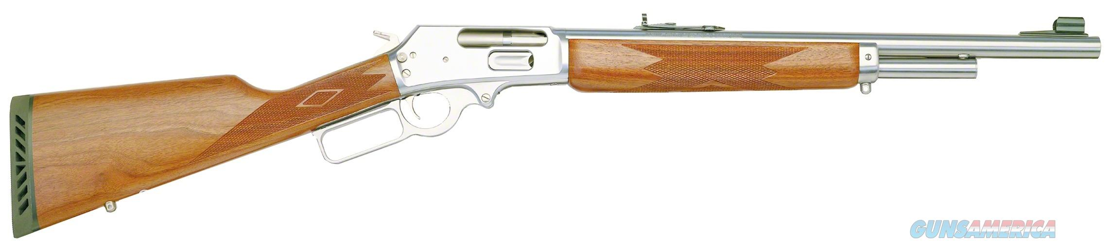 Marlin 1895Gs Lever Action Rifle 45-70 Govt, Rh, 18.5 In, S/S, Wood Stk, 4+1 Rnd 70464  Guns > Rifles > MN Misc Rifles