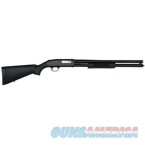 "Mossberg 50579 500 Tactical Pump 12 Gauge 20"" 3"" 7+1 Synthetic Black W/Pistol Grip Blued 50579  Guns > Shotguns > MN Misc Shotguns"
