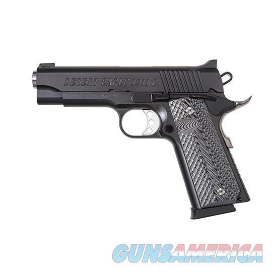 """Magnum Research De1911c Desert Eagle 1911 C Single 45 Automatic Colt Pistol (Acp) 4.33"""" 8+1 Wood Grip Black Carbon Steel DE1911C  Guns > Pistols > Magnum Research Pistols"""