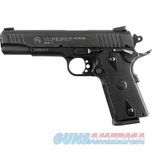 "Taurus 1191101Fs 1911 Standard 45 Automatic Colt Pistol (Acp) Single 5"" 8+1 Heinie Front Black Synthetic Grip Steel Alloy Frame Blued Slide 1-191101FS  Guns > Pistols > TU Misc Pistols"