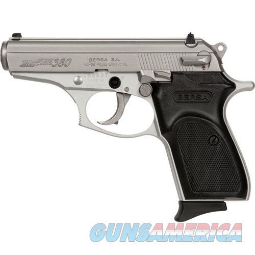 Bersa Thunder .380Acp Fs 8 Shot Satin Nickel Syn T380NKL8  Guns > Pistols > Bersa Pistols
