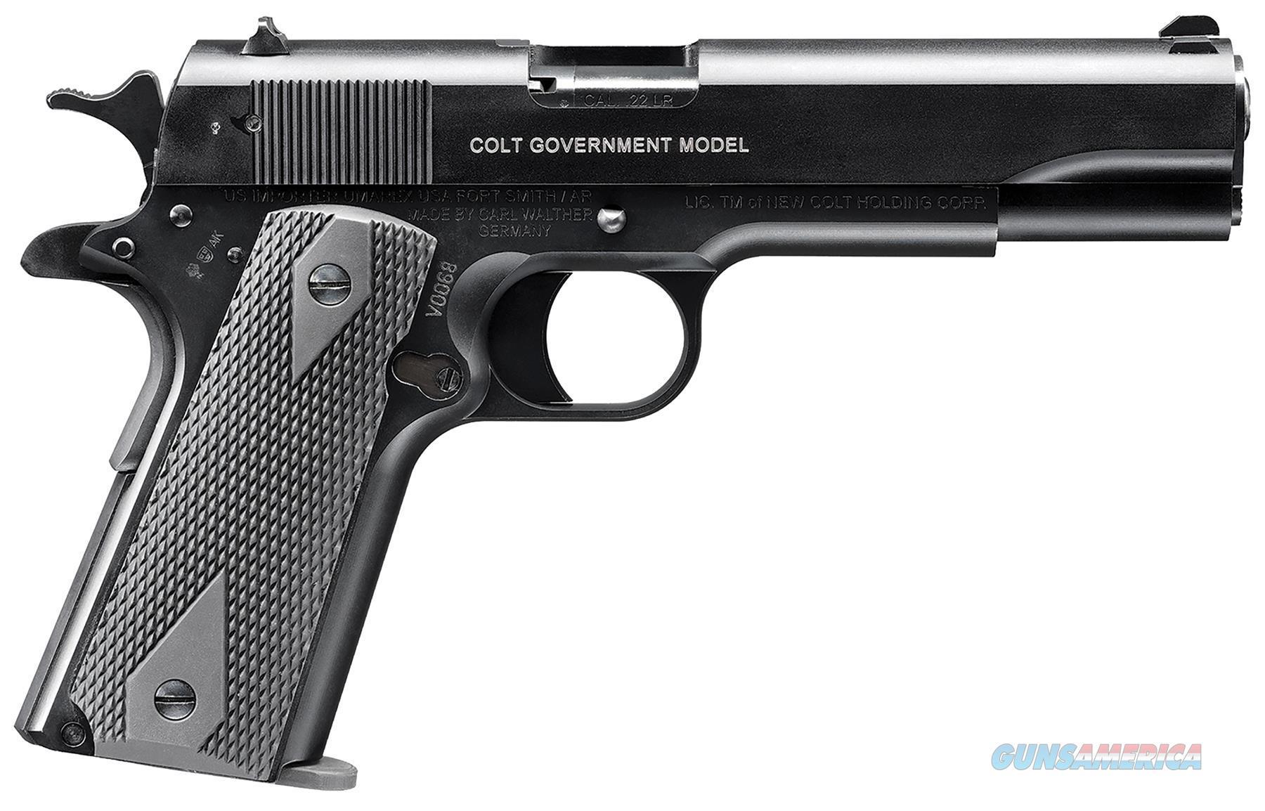 "Walther Arms 517030410 1911 Colt Government A1 Single 22 Long Rifle (Lr) 5"" 10+1 Black Polymer Grip Black Tenifer 517030410  Guns > Pistols > W Misc Pistols"