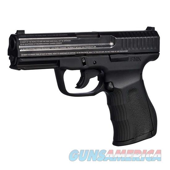Fmk Firearms 9C1 G2 Fat 9Mm 4 Nms Blk 10Rd Engraved G9C1G2ENM  Guns > Pistols > F Misc Pistols