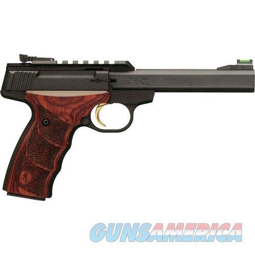 Browning Buck Mark Plus Udx Rosewood 22Lr 5.5 Fos 051533490  Guns > Pistols > B Misc Pistols